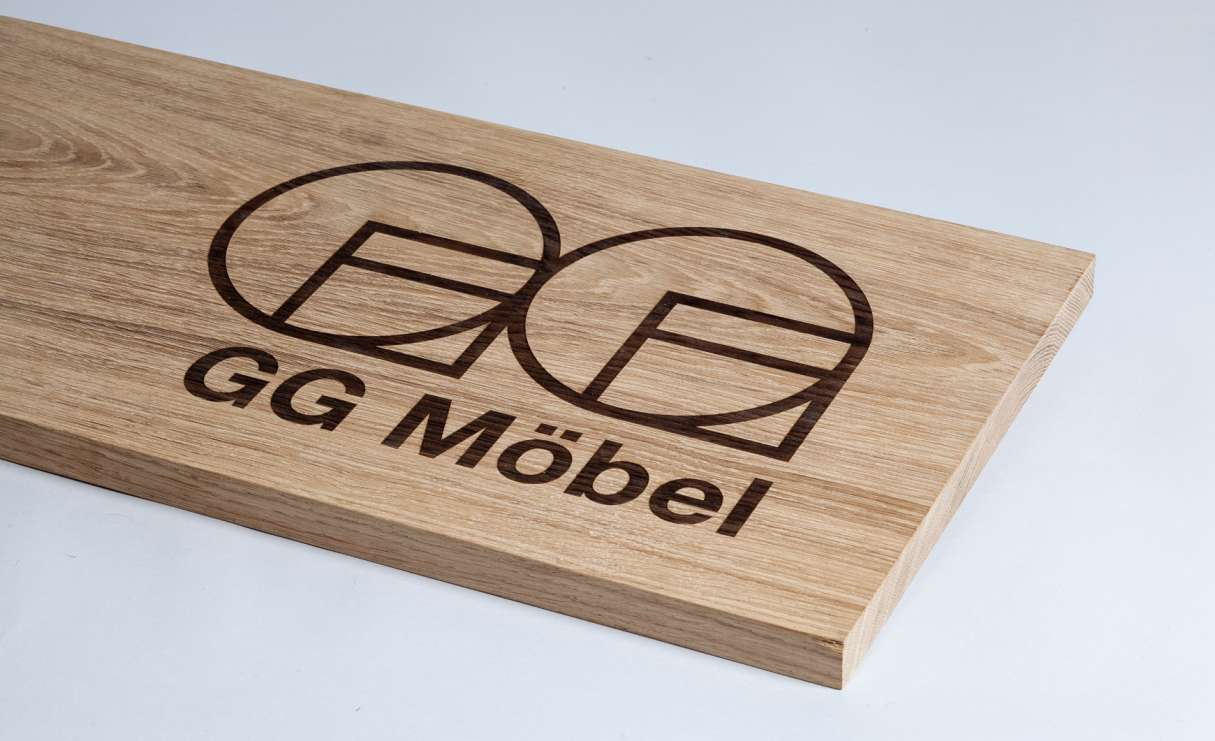 GG Mobel logo application 3