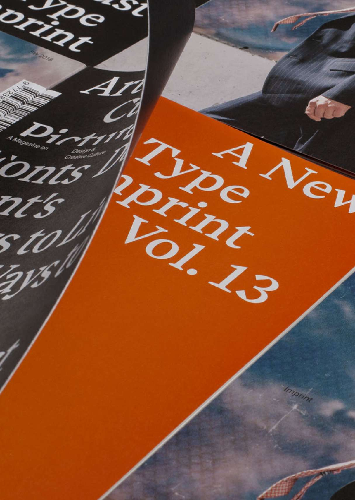 Folded cover detail – Imprint Vol.13