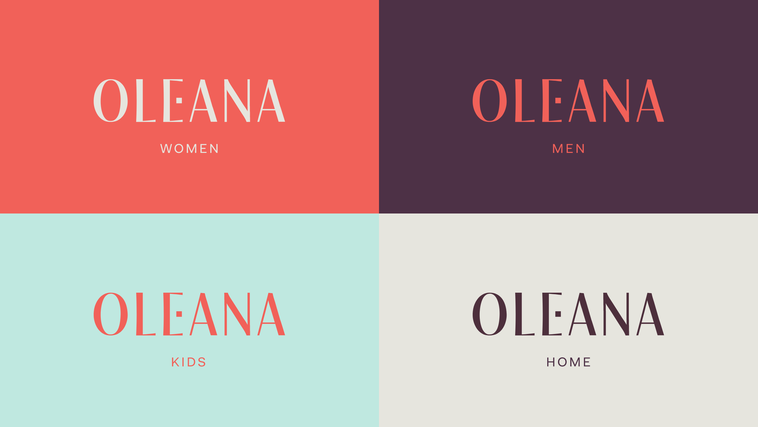 Oleana branding - Wearable culture overview