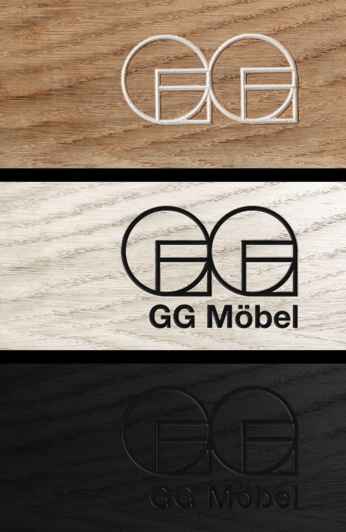 GG Mobel logo application 4